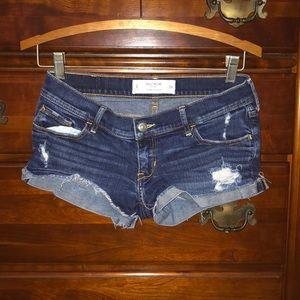 Jean shorts, size 2